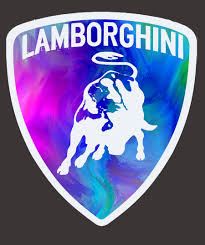 lamborghini logo entry 27 by talhafarooque for illustrate a painted lamborghini