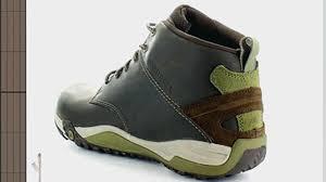 merrell mens leather helixer morph chukka boots boulder video