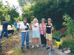 long island native plant initiative community planting at manorhaven preserve port washington news