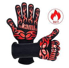 gant de cuisine anti chaleur yokamira gants de cuisine anti chaleur longeur 35cm gant de