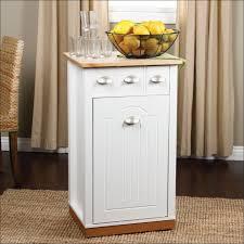 furniture amazing kitchen island with trash storage fresh