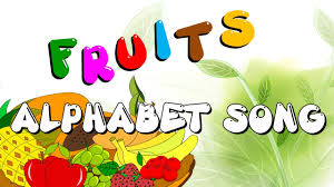 the fruits alphabets song abc fruit song learn abc with fruits