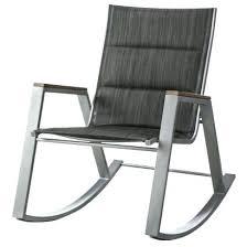 Patio Rocker Chair Wrought Iron Patio Rockers Rocker Chair Chocolate Wicker
