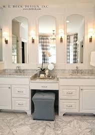 bathroom vanity pictures ideas bathroom vanity with makeup area ideas live beautifully center