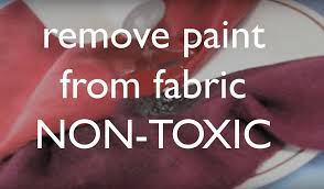 how to get dried acrylic paint out of your clothing u0026 fabrics non
