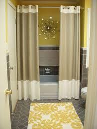 bathroom curtain ideas best 25 two shower curtains ideas on bathroom