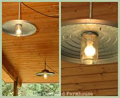 Cabin Light Fixtures by The Cozy Old