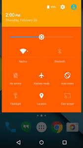 color themes for android how to theme android lollipop with custom colors nexus gadget