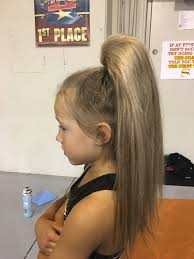 ponytail hair beehive cheer hair ponytail for cheer competitions