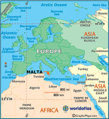 Geography Of The Ottoman Empire by Malta Map Geography Of Malta Map Of Malta Worldatlas Com
