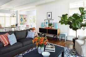 Elegant Dark Grey Couch Regarding Gray Living Room Ideas Lovely