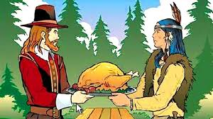 thanksgiving bgpilgrims thanksgiving jpg meal facts story