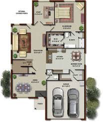 outsource real estate 2d to 3d floor plan conversion services to