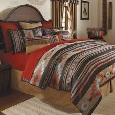 Cheap Queen Comforter Clearance Bedding Delightful Southwestern Bedding