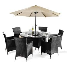 Patio Table And 6 Chairs Cannes Rattan 6 Seater Dining Set Next Day Delivery Cannes
