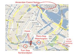 Amsterdam Metro Map by Loft Science Meeting Venue