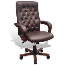 fauteuil de bureau marron fauteuil bureau cuir marron achat fauteuil bureau cuir marron pas