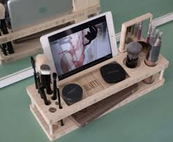 genius a makeup organizer that also makes diying special looks