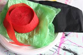 crepe paper poppy craft for kids happy hooligans