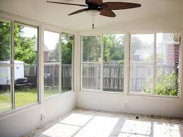 glass windows for a screened porch