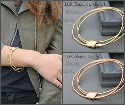 rose gold bracelet set images Gold bangle stackable bracelets set thin gold bracelet set jpg