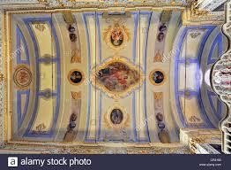 interior view ceiling paintings vaulted ceilings igreja sao