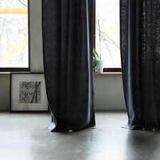 Grey Linen Curtains Linen Curtains Ready Made And Bespoke Linenme
