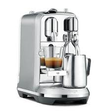 nespresso coffee nespresso creatista plus coffee machine silver by sage amazon co
