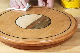 Lazy Susan Kitchen Table by How To Make A Lazy Susan Kitchen Project Woodworking