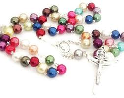 unique rosaries unique rosary etsy