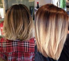 medium length hair with ombre highlights fascinating ombre bob hairstyles to try pretty hairstyles com