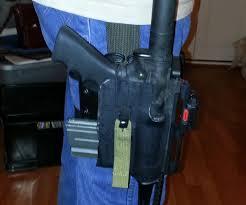 kydex ar15 pistol holster 5 steps