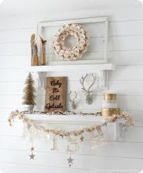 shelf decorations winter mantel and winter shelf decorating ideas