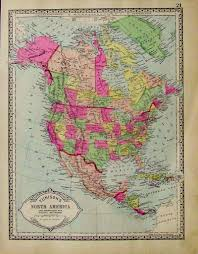 Map Of The United States In 1840 by Prints Old U0026 Rare North America Page