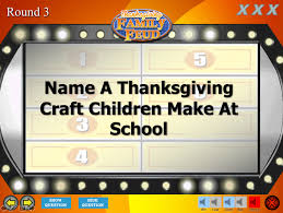 thanksgiving family feud trivia powerpoint mac and pc