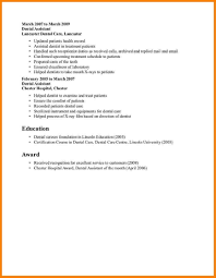 How To Write A Medical Assistant Resume Examples Of Dental Assistant Resumes Resume For Your Job Application