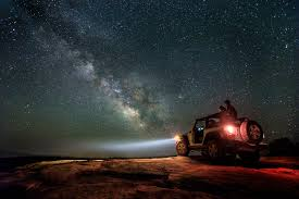 jeep utah capturing the milky way galaxy and keeping models still tyler