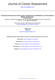 Sample Respiratory Therapy Resume by Journal Of Career Assessment 2010 Hirschi 223 38
