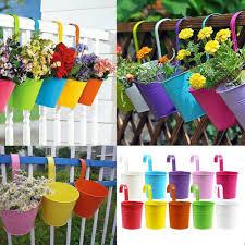 Flower Pot Holders For Fence - pot hangers for fence hanger inspirations decoration