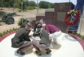 Aggie Flag Student Designed Memorial Dedicated On Wwii Battle Site Archone