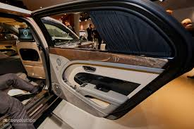 bentley 2017 interior how bentley made the mulsanne ewb long wheelbase look almost