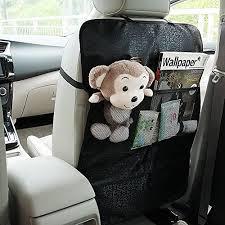 protege dossier siege voiture bontec protection dossier de siège voiture lot de 2 organisateur