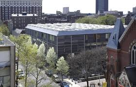Exterior View Conservation Effort Complete For Yale Center For British Art