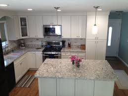 modern glass kitchen cabinets california kitchen with white shaker cabinets u0026 island