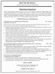 retail sales manager resume experience retail manager resume exles luxury store manager resume sle