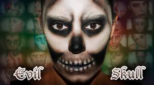 halloween fx makeup evil skull silvia quiros youtube