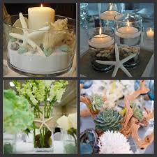 coastal centerpieces wedding centerpiece ideas interior decor picture