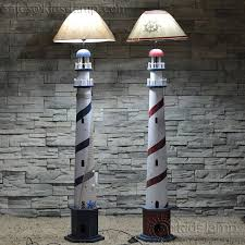Kids Room Floor Lamps by Kids Bedroom Wooden Boat And Lighthouse Beach Style Floor Lamps