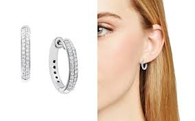 what size diamond earrings jewelry diamonds rings watches on sale bloomingdale s