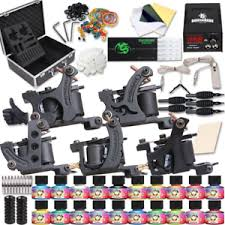 tattoo kit without machine dragonhawk complete tattoo kit 5 machine gun ink power supply 50